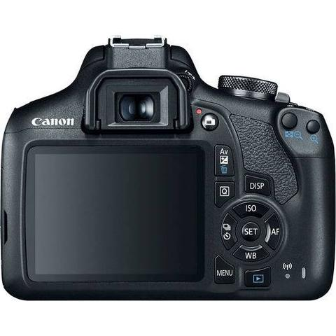Imagem de Câmera DSLR Canon EOS Rebel T7 PREMIUM KIT com lente 18-55mm IS II + 55-250mm IS II