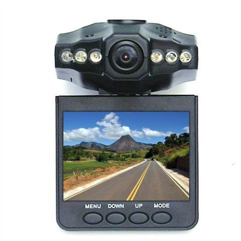 Imagem de Câmera Filmadora Veicular Hd Dvr Visão Noturna Com Lcd