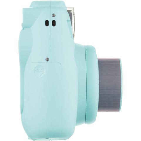 Imagem de Câmera Fotográfica Instantânea Fujifilm Instax Mini 9 Azul Aqua Com Flash e Espelho Para Selfie