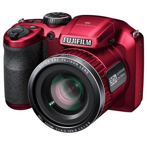 Imagem de Câmera Fujifilm FinePix S4800 Vermelha