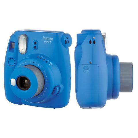 Imagem de Câmera instantânea Fujifilm Instax Mini 9 Azul Cobalto + Pack 10 fotos