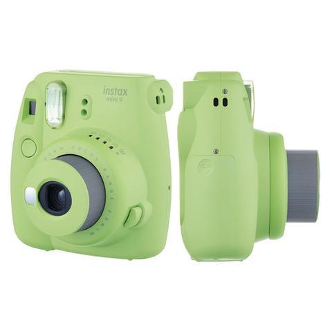Imagem de Câmera instantânea Fujifilm Instax Mini 9 Verde Lima + Pack 10 fotos