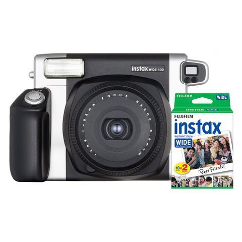 Câmera Digital Fujifilm Instax Wide 300 Preto 16.0mp