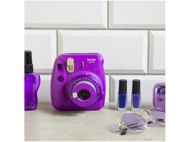 Imagem de Câmera Instax Mini 9 Fujifilm Roxo Açaí