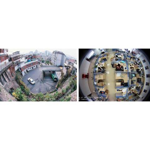 Imagem de Camera Ip De Seguranca HD Panoramica 360 Wifi Lente Olho De Peixe 1,3 MP