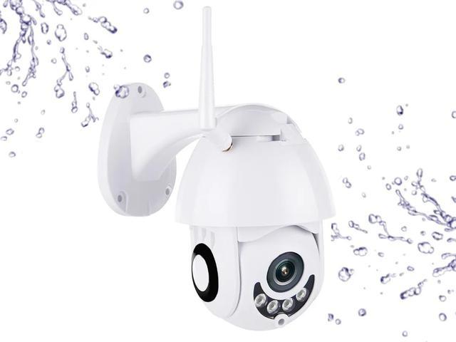 Imagem de Câmera Ip Icsee Prova D'água Infravermelho Externa Wifi Hd HZ-IP500