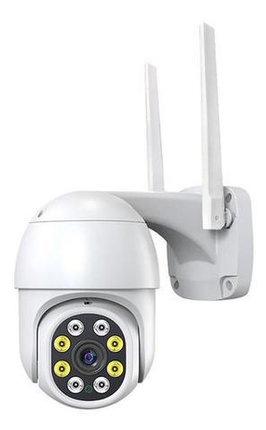 Imagem de Câmera Ip Prova D'água Infravermelho Externa Wifi Hd 3