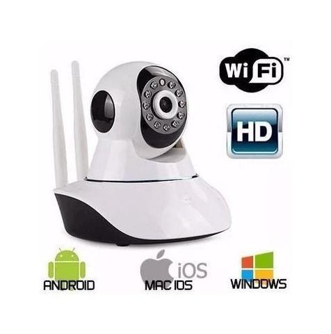 Imagem de Camera Ip Robo P2p Visão Noturna Wireless Wifi SemFio 720hd