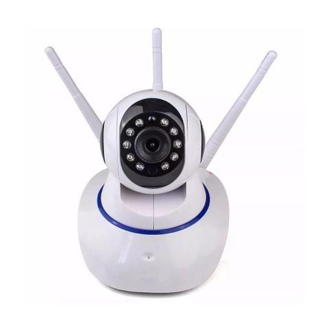 Imagem de Câmera IP Robô Wireless HD Com Áudio e Visão Noturna HD SD
