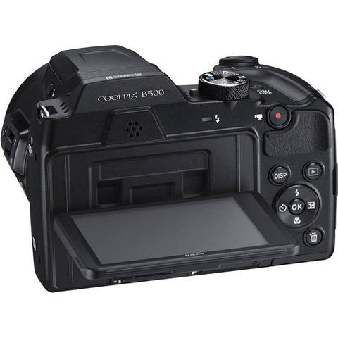 Imagem de Câmera Nikon Coolpix B500 - Preto