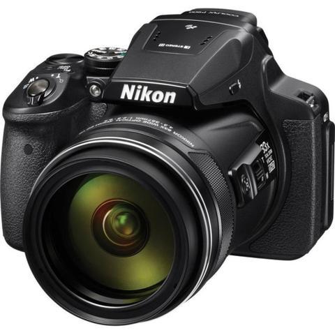 Câmera Digital Nikon Coolpix Preto 16.0mp - P900