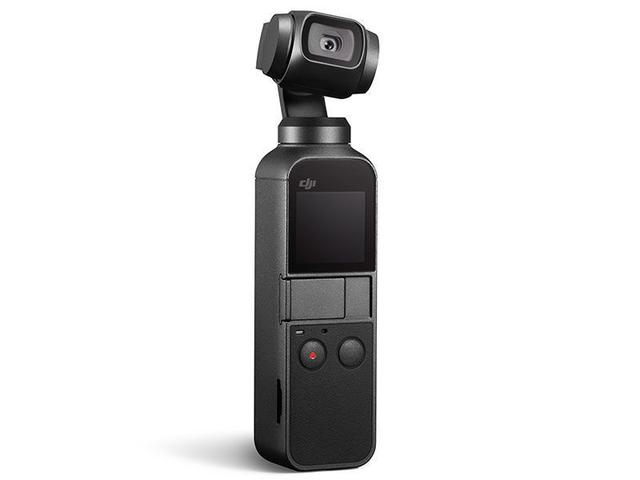 Câmera Digital Dji Osmo Pocket 4k Estabilizador Preto 12.0mp