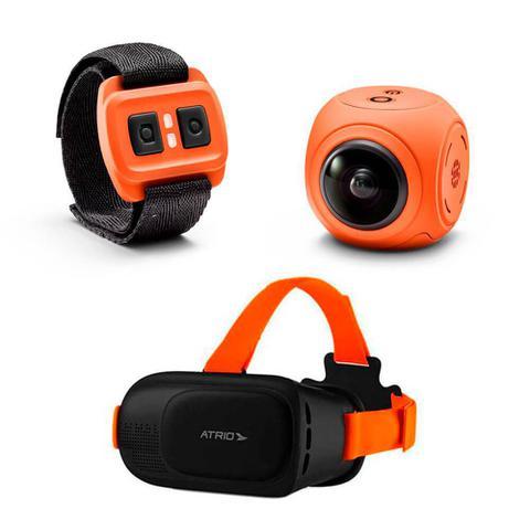 Câmera Digital Atrio X-pheral Laranja Mp - Dc187