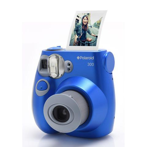Câmera Digital Polaroid Instant Pic Azul Mp - 300