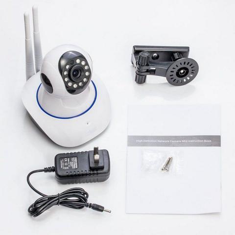 Imagem de Câmera Segurança de LED IP Infravermelho 720p HD Wireless Wifi Audio