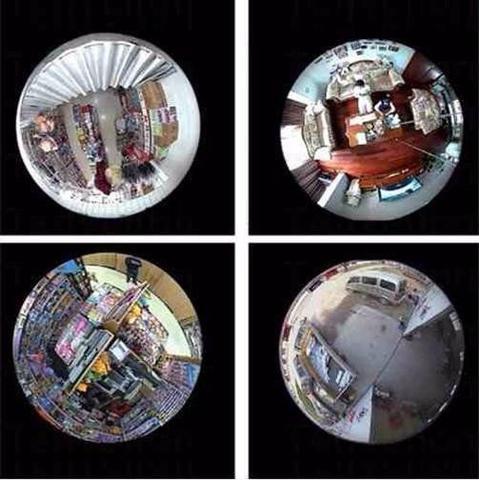 Imagem de Câmera Segurança IP Lâmpada 3D 360º Wifi Panorâmica V380 - VRCam