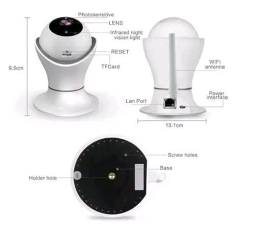Imagem de Câmera Segurança Ip Wifi Hd Residencial Celular Ios Android