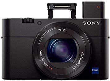 Câmera Digital Sony Cyber- Shot Preto 20.2mp - Dsc-rx100