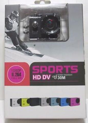 Câmera Digital Sport Dv Sport Azul 1.3mp - F5