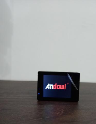Imagem de Câmera Sportiva 4k Andowl Action WI-FI Câmera Impermeável(Branco)
