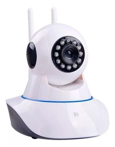 Imagem de Camera Wifi Ip Wireless Sem Fio Hd 2 Antenas Visão Noturna
