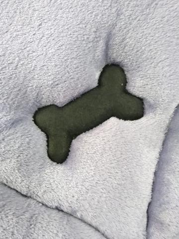 Imagem de Caminha Tapete de Manta em Microfibra Re9casa para Cães e Gatos Cores Sortidas - Tamanho G
