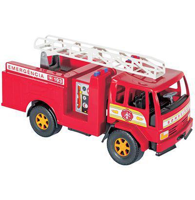 Imagem de Caminhao bombeiro grande 43x19x21cm