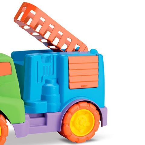 Imagem de Caminhão Bombeiro Tchuco Baby - Samba Toys
