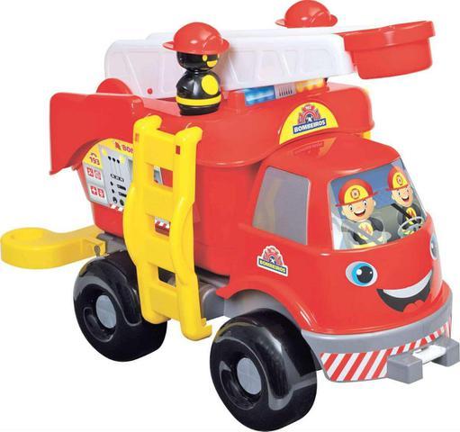 Imagem de Caminhão Bombeiros Grande com Som Merco Toys