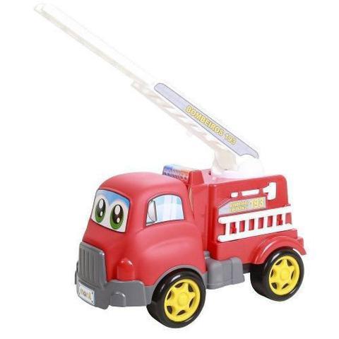 Imagem de Caminhão De Bombeiros Em Ação Turbo Truck Maral Brinquedos
