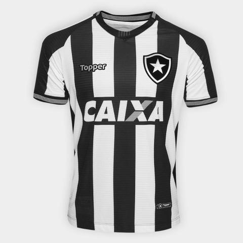 Imagem de Camisa Botafogo I 2018 s/n Torcedor Topper Masculina