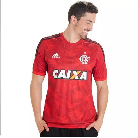 Camisa Flamengo Adidas Flamengueira 2014 - Vermelho - Vestuário ... 157b95ab87e83