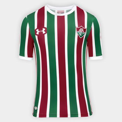 Imagem de Camisa Fluminense I 17/18 s/nº Torcedor Under Armour Masculina