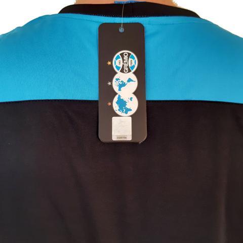 Imagem de Camisa Grêmio Dry Casual Preta Licenciada Oficial