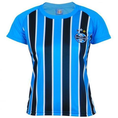 Imagem de Camisa Grêmio Feminina Dry Tricolor