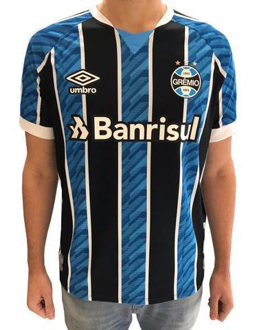 Imagem de Camisa Grêmio Masculina Número 10 2020/21