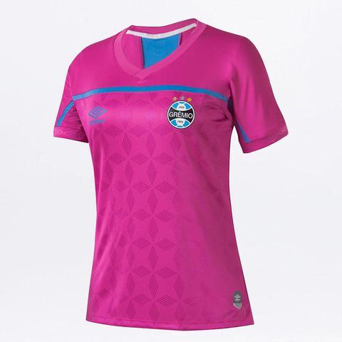 Imagem de Camisa Grêmio Outubro Rosa 20/21 s/n Torcedor Umbro Feminina