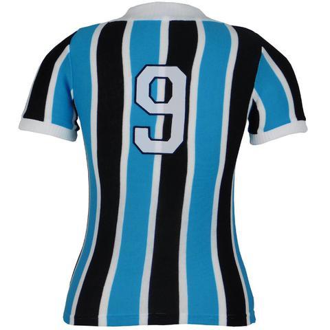 Imagem de Camisa Grêmio Retrô 1977 Nº 9 Feminina