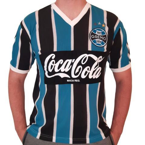 Imagem de Camisa Grêmio Retrô Coca-cola 1989 Oficial