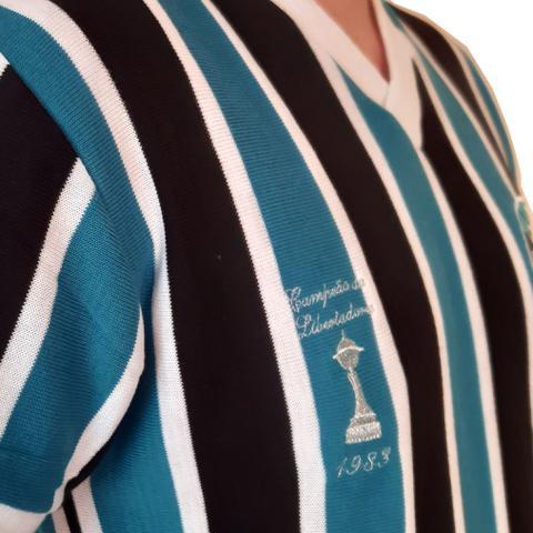 Imagem de Camisa Grêmio Retrô Libertadores 1983 Oficial