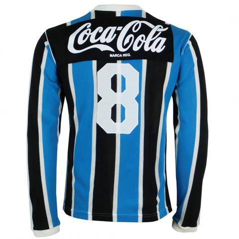 Imagem de Camisa Manga Longa Grêmio Retrô 1989 Coca-Cola Masculina