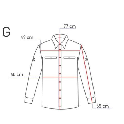 c5d5a377b3 Camisa Masculina Trek Fish Gelo G Guepardo - Vestuário Esportivo ...