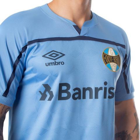 Imagem de Camisa Masculina Umbro Grêmio Oficial 3 C/N 20/21 Marinho
