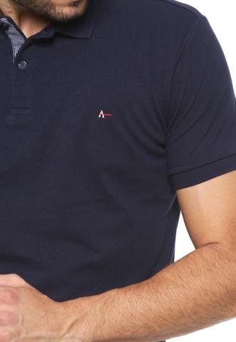 Imagem de Camisa Polo Aramis  Detalhe Interno Marinho