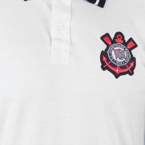 Imagem de Camisa Polo Corinthians Piquet Stripe Masculina