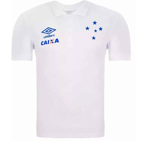 Camisa Polo Cruzeiro Viagem Umbro 3E33000 - Futebol - Magazine Luiza 92b0b2185048b