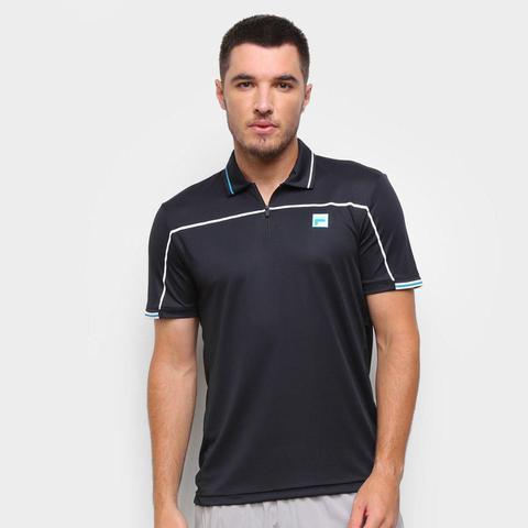 Imagem de Camisa Polo Fila Fine Striped Masculina