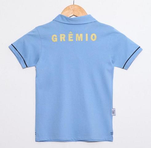 Imagem de Camisa Polo Infantil Grêmio Azul Oficial