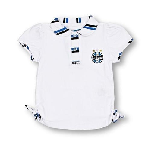 Imagem de Camisa Polo Infantil Grêmio Feminina Oficial
