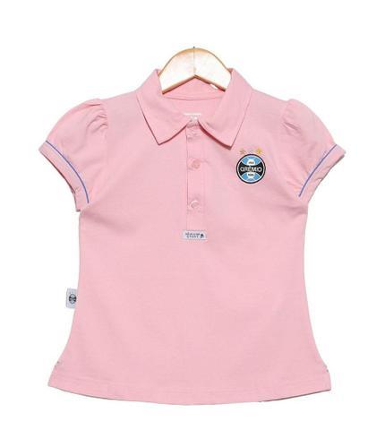 Imagem de Camisa Polo Infantil Grêmio Rosa Oficial